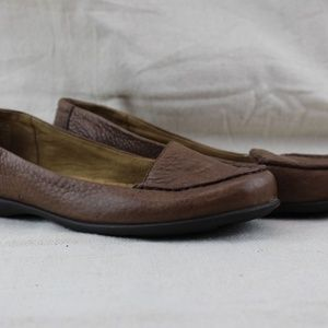 Rockport Ashley Plain Moc, Lugga Brown, Size 6M